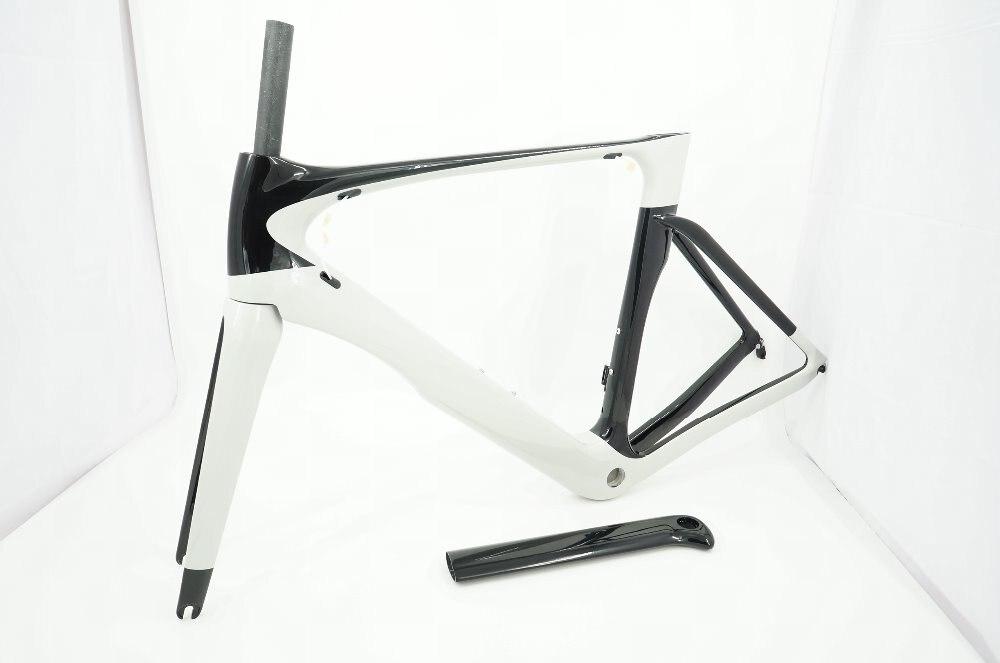 Plein cadre interne de routage de câble Aero cadre de vélo de route Aero cadre de vélo