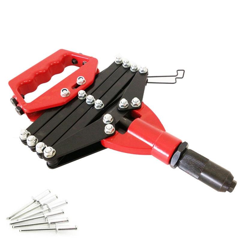 3.2/4.0/4.8/6.0/6.4MM Folding Blind Rivet Gun Hinged Hand Riveter