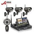 Вручную С Переменным Фокусным Расстоянием 2.8 мм-12 мм 4CH Беспроводной NVR Surveillance Kit 720 P HD Открытый Безопасности Wi-Fi Ip-камеры Системы ВИДЕОНАБЛЮДЕНИЯ 1 ТБ HDD