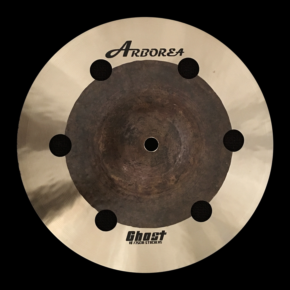ARBOREA Cymbal B20 Professional Ghost series 10 Stacker Cymbal Price arborea ghost cymbal set on sale