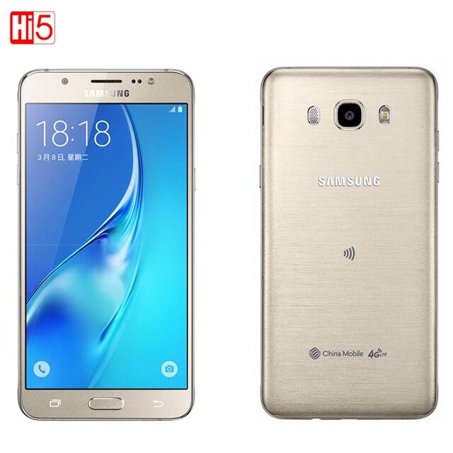 Samsung galaxy j5 (2016) 5.2 дюймов 2 ГБ RAM 16 ГБ ROM Quad Core Snapdragon 410 3100 мАч Dual SimFDD LTE Смартфон