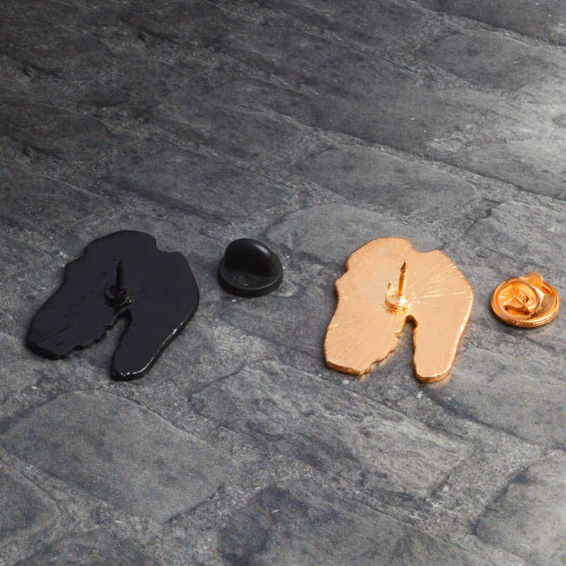 Динозавр эмаль брошь джинсовая одежда сумка лацкан странные вещи значок кнопки мультфильм животных ювелирных изделий подарок для детей друзей