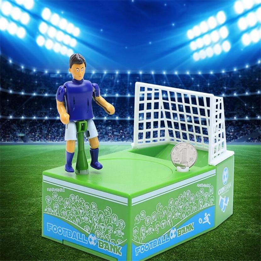 O Jogo de Futebol Vem A Moeda Caixa de Dinheiro de Brinquedo Pastic Casos Moeda Cofre Escondido Crianças Jogo Brinquedo Piggy Dinheiro Do Banco seguro banco Magia JBZQ