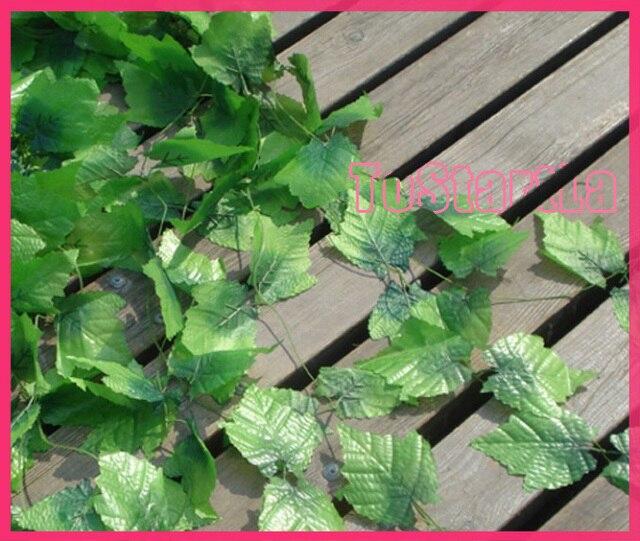 artificial Grape leaves vines fake plants