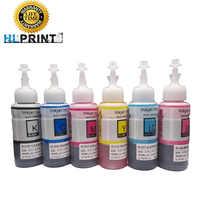 100ML Ink Refill Kit compatible EPSON L800 L801 L805 L810 L850 L1800 printer ink T6731 T6732 T6733 T6734 T6735 T6736