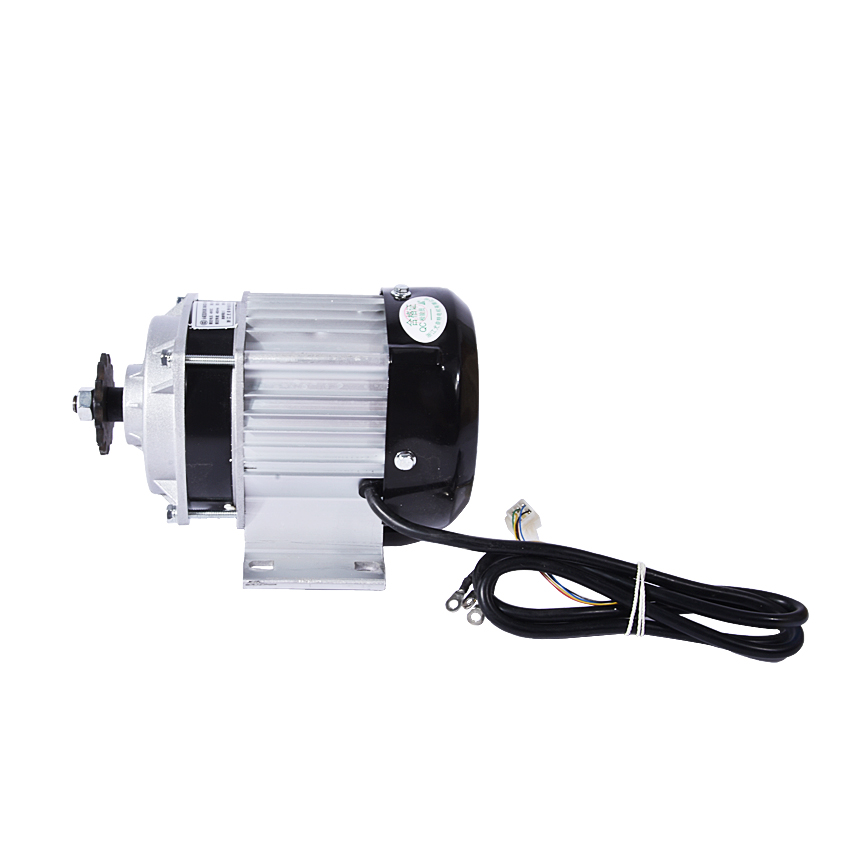 Permanent magnet DC deceleration brushless motor  48V 500W  electric tricycle with 2800rpm BM1418 60v 3000w 4600rpm permanent magnet brushless differential speed dc motor electric vehicles machine tools accessories motor