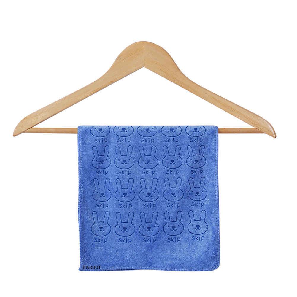 Pudcoco 夏幼児新生児幼児少女ソフトバスタオル綿ウサギ動物プリント洗浄シャワータオルギフト 2019