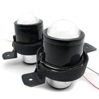 Auto Headlight Kit Set 2 5 Inch Xenon Projector Lens H11 Bulbs Foglights Dedicated For Nissan