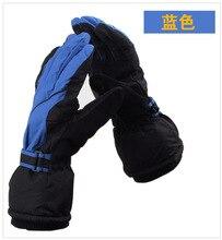 Mens Snowboard gloves Professional Ski gloves Men Outdoor Waterproof Windproof Winter thermal Snowboard windproof gloves