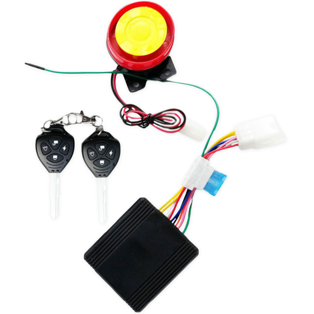 Full Function Accessories Report Motorcycle Alarm Motorcycle Alarm Key Integrated Waterproof Remote Control Belt Start Flameout