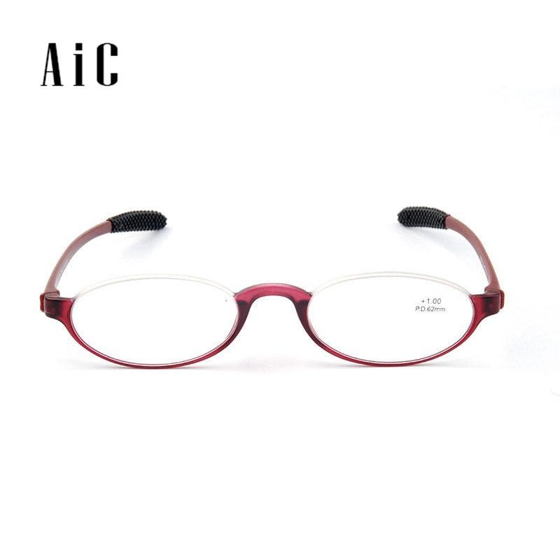 Γυαλιά ανάγνωσης TR90 Φακός ρητίνης πλαισίου Μαύρο κόκκινο Χρώματα αντρών και γυναικών σε γυαλιά ανάγνωσης 1.0 1.5 2.0 2.5 3.0 3.5