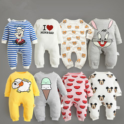 Baby clothes 2017 new arrive newborn bodysuits baby spring autumn wear pure cotton infant clothing baby.jpg 250x250