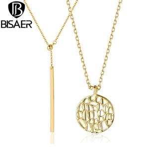 BISAER Vintage Simple Gold Col