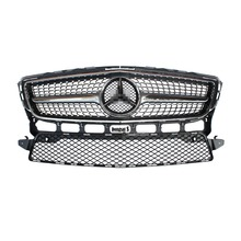 Mercedes CLS W218 CLS350 Diamonds Front ABS Grille Grille fit for Benz 2012 – 2014 CLS 350 AMG package only Fit Sporty Edition