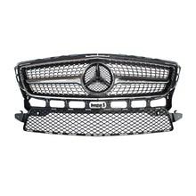 Mercedes W218 CLS350 Diamantes Frente ABS Grille grille fit for Benz 2012-2014 CLS 350 AMG paquete sólo Ajuste Deportivo Edición