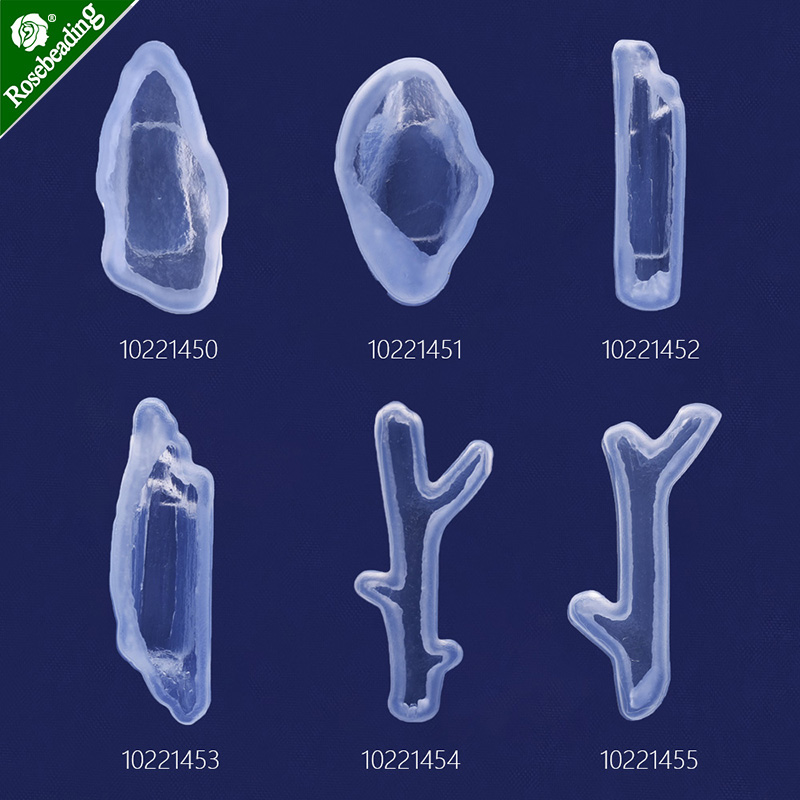 Transparent silicone mold cabochon mold Stone Branch block mould Jewellery Making Craft Mold DIY Craft Mold,sold 1pc/lot