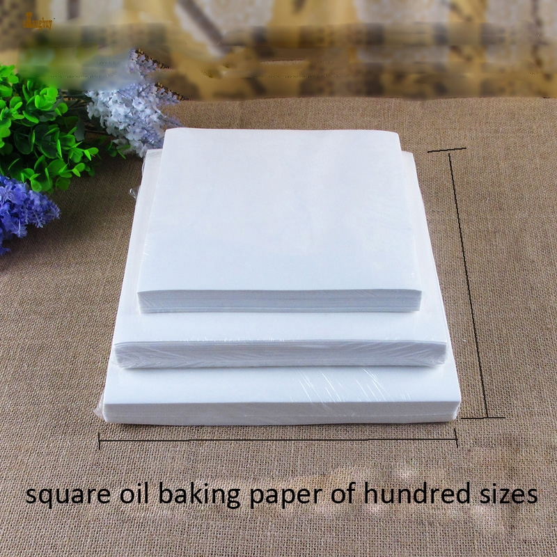 500pcs Lot 20sizes Square High Quality Parchment Paper