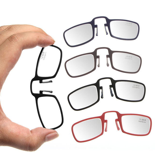 Aliexpress.com: Comprar Portable Mini Nariz Clip de Gafas de Lectura ...