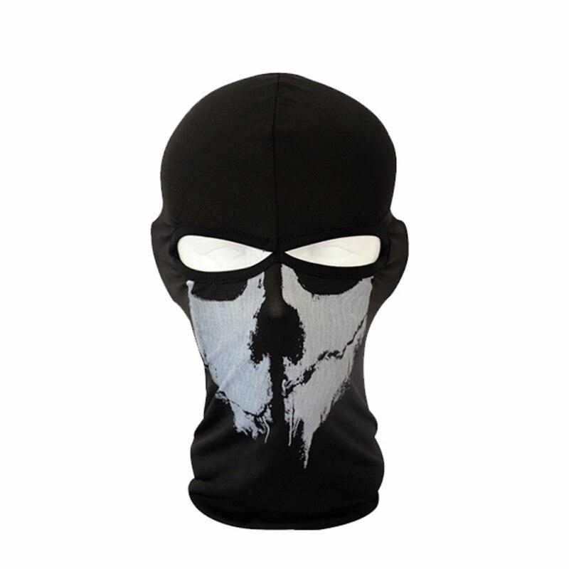 2017 New Cap Skull Full Face Mask Men Balaclava Bike Motorcycle Cycling Skullies Protect Headgear Y7 цена 2016