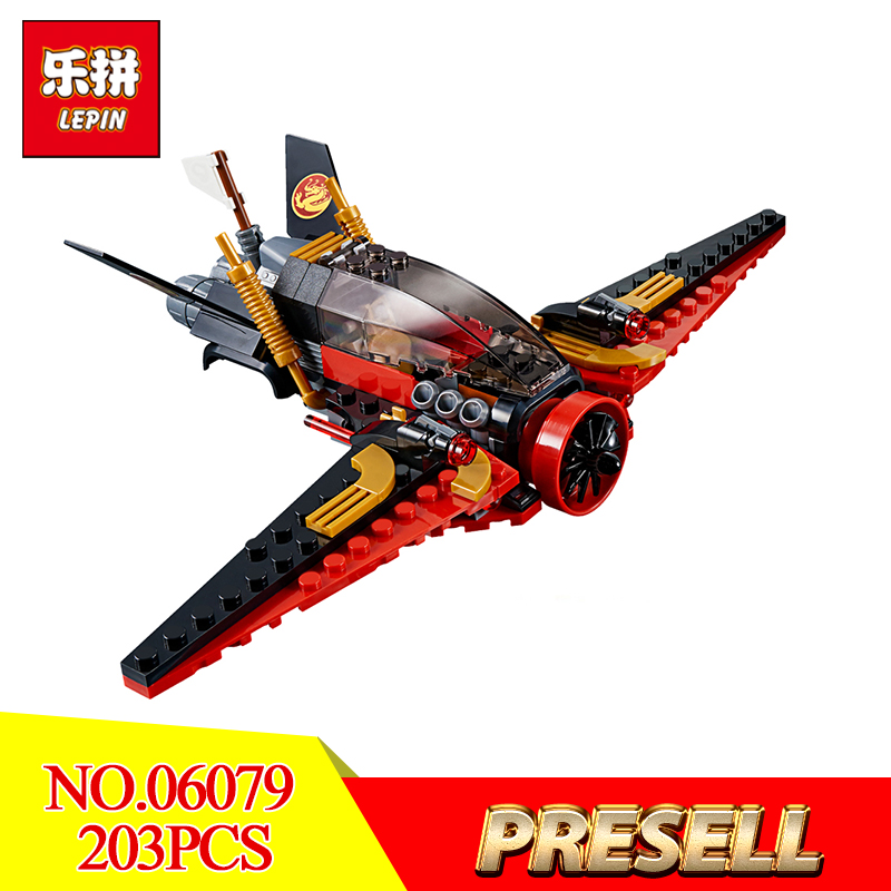 2018 New Lepin 06079 Ninjago the Destinys Wing set Blocks Bricks legoing 70650 For Kids  ...