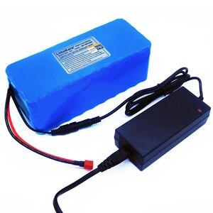 Image 5 - LiitoKala 36v 42V lithium battery 10ah lithium ion battery 18650V 10000 mAh 10s4p bms large capacity electric bicycle charger