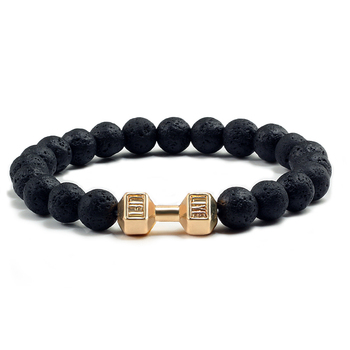 Black Lava Yoga Healin Bracelets12