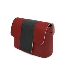 TANQU t-shaped Wood Grain kontrast kolor PU skórzana klapka pokrywa pokrywa Clamshell z zamek magnetyczny zatrzask do Obag O kieszeń tanie tanio Skóra Flap cover 100g OP-1
