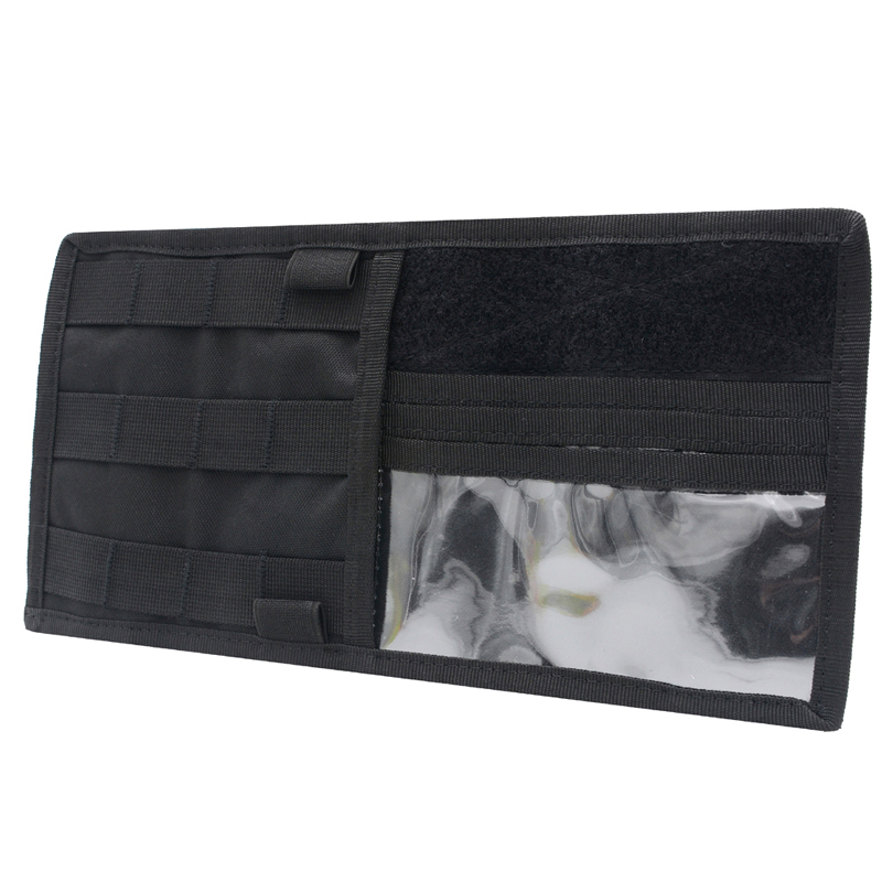 Car Leather Sun Visor Organizer Interior Tidy 7-Pocket Pen Card Storage Black