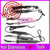 Professional Keratin Hair Extension Tools 1pc Hair Extensions Iron Fusion Iron Fusion Connector Black Pink 2