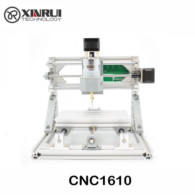 CNC 1610 GRBL contrôle Diy mini CNC machine, zone de travail 16x10x4.5 cm, 3 Axe Pcb fraiseuse, Bois Routeur, cnc routeur, v2.4