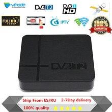 Vmade tv box HD Мини DVB T2 ресивера DVB-T2 MPEG-2/4 H.264 Поддержка HDMI Декодер каналов кабельного телевидения K2 ТВ тюнер бесплатная доставка