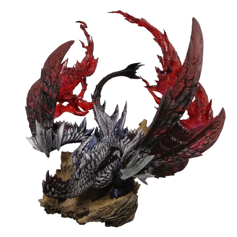 цена на 2018 New Monster Hunter World Dragon Model Collections Monster Figures Action Japan Monster Hunter Game