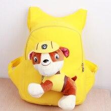 Kinder Schultaschen Welpen Patrol Schultasche Rucksack für Kinder Mochila Infantil 3D Leinwand Patrulla Canina Cartoon Anime Rucksack