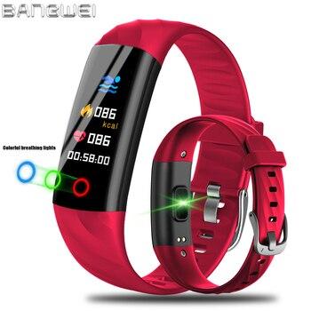 цена на Women Smart Bracelet Watch Pedometer Heart Rate Monitor Blood Oxygen Fitness Tracker Smart Wristband Sport Watch Swim Waterproof