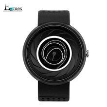 2017 neutral watch Enmex men women creative design camera len concept coil face wristwatch  sports casual fashion quartz watches