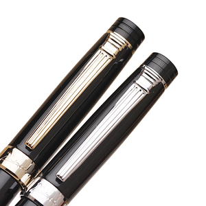 Image 3 - Pimio Picasso fountain pen picasso ps 917 gold clip silver Student teacher business Roman style gift box packaging FREE shipping