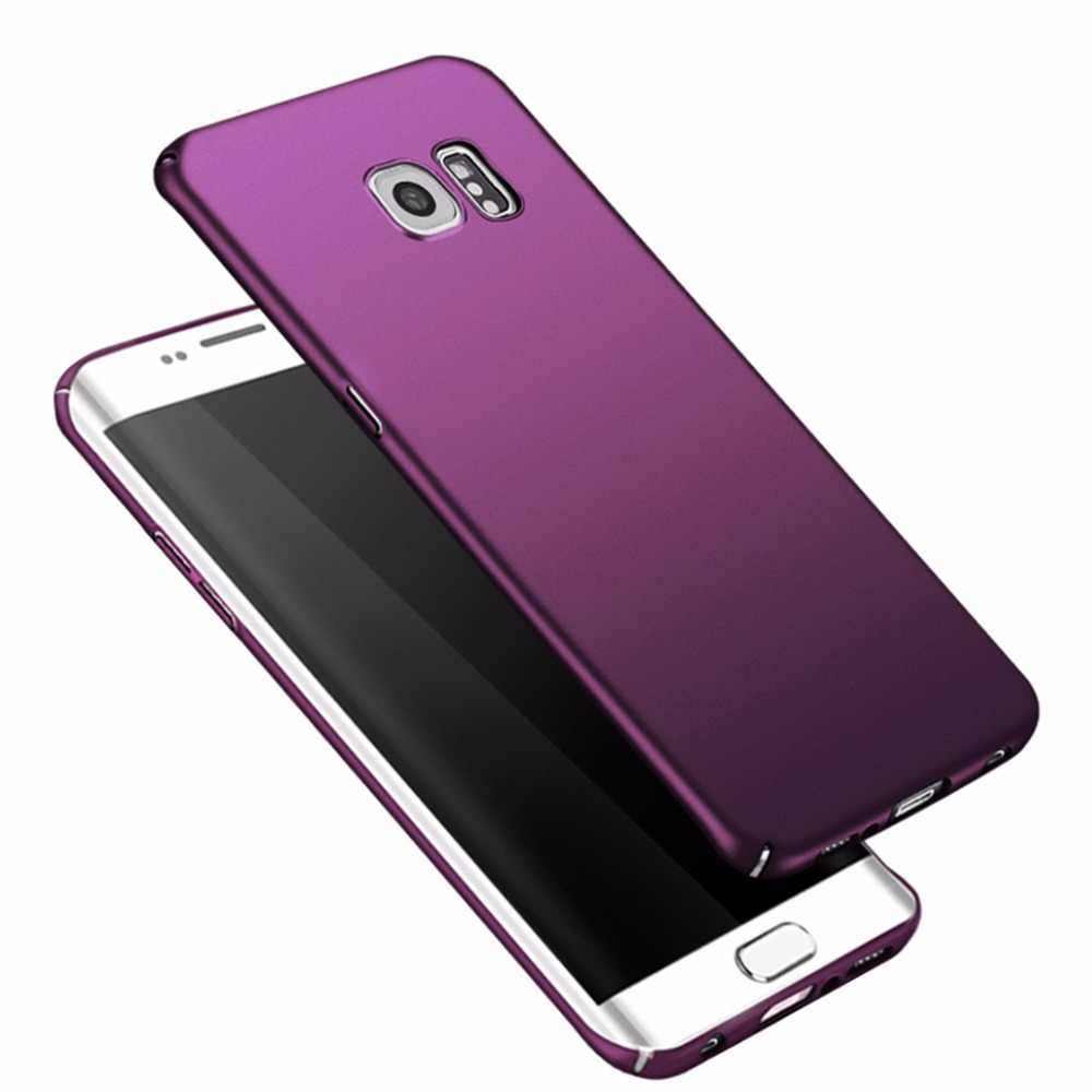 For Samsung Galaxy S6 edge case Luxury Hard case For samsung s6 case Pouch PC back cover For galaxy s6 edge coque bumper cases