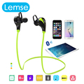 Lemse G6 Wireless Bluetooth earphone Headset Sport Handsfree Stereo Voice Control for iPhone  HTC Huawei Xiaomi Smartphone