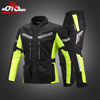 MOTOBOY Motorcycle Off Road Racing Jacket Body Armor Riding Pants Motocross Men's Clothing water proof movable warm liner J13