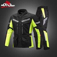Motoboy мотоциклов шоссейные куртка Средства ухода за кожей Панцири для верховой езды Брюки для девочек Мотокросс Мужская одежда Water Proof движим
