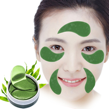 60PCS=30Pair Green Gel Eye Patches Anti Wrinkle Bags Dark Circles Puffy Sleep Masks Pads Face Mask Moisturizing Care