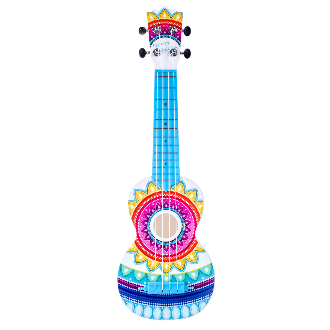 21 Inches Children Guitar Type Ukulele Early Educational Musical Instruments Toys Learning Skills Kits
