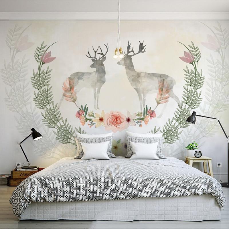 Beibehang Papel De Parede Custom Retro Wallpaper Backdrop