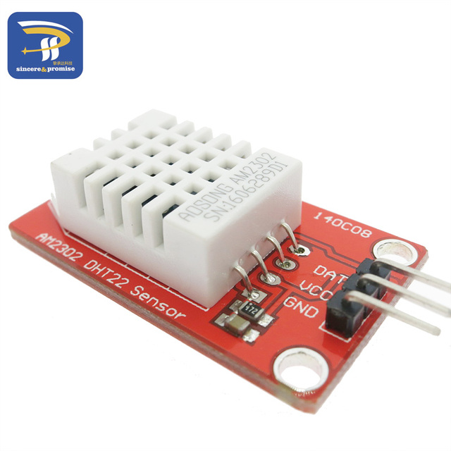 High Precision AM2302 DHT22 Digital Temperature & Humidity Sensor Module 5V Single Bus Interface For Arduino Uno R3 ONE