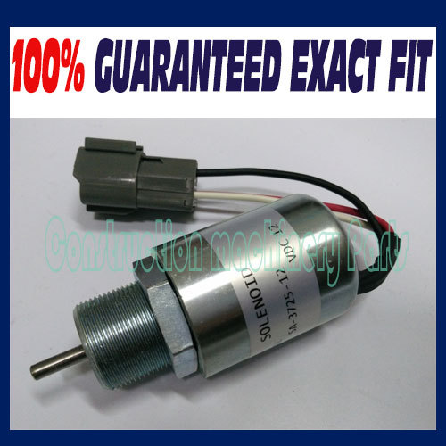 SA-3725 ,30A87-10044 ,30A87-20404 SHUTDOWN SOLENOID FOR MITSUBISHI ENGINE S3L S4L , For Volvo JOB Excavator 3924450 2001es 12 fuel shutdown solenoid valve for cummins hitachi