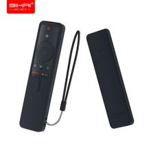 Coperture per xiaomi mi tv box s bluetooth wifi di controllo remoto intelligente SIKAI custodia In Silicone Della Protezione Shockproof per mi TV bastone di 1080P