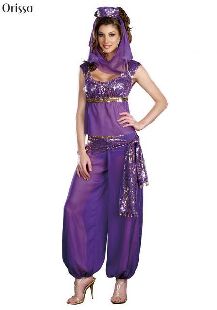 Purple Princess Jasmine Costume