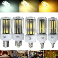 цена на LED Corn Lmap E27 E17 E14 E12 B22 18W 100 SMD 5736 LED Pure White Warm White Natural White Corn Bulb AC85-265V