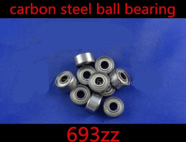 100pcs/lot 693zz 3 x 8 x 4mm  Carbon Steel deep groove ball bearing 3*8*4mm  3mm Miniature ball Bearings gcr15 6326 zz or 6326 2rs 130x280x58mm high precision deep groove ball bearings abec 1 p0