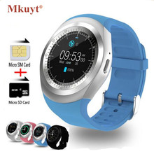 """MKUYT Y1 Smart Watch 1.54"""" Touch Screen Fitness Activity Tracker Sleep Monitor Pedometer Calories Track Support SIM Card Solt"""